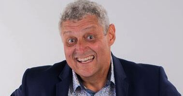 Barry's been invited back to the UAE for four comedy shows