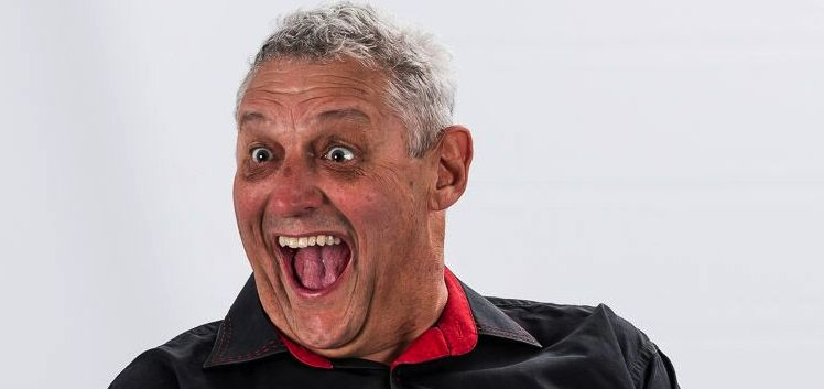 Non-stop laughter with Barry Hilton at Vereeniging Barnyard on 11 November 2017